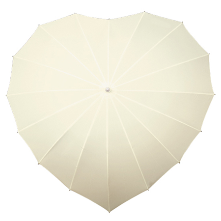 wholesale_ivory_heart_umbrella