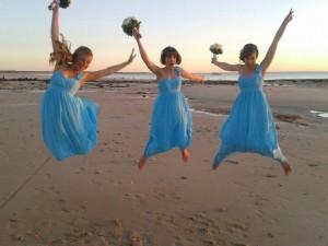 Kayleighs bridesmaids