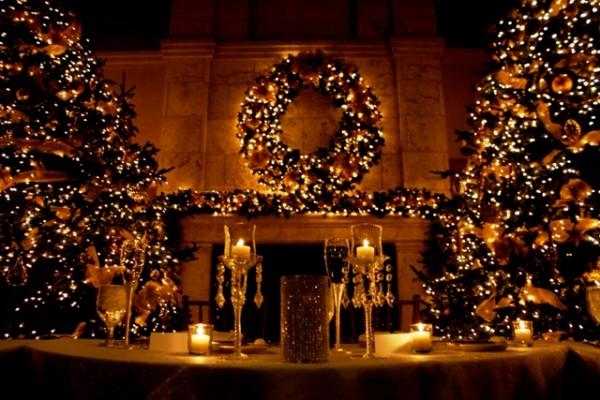 Christmas weddings the bridal box - Decoration noel interieur maison ...