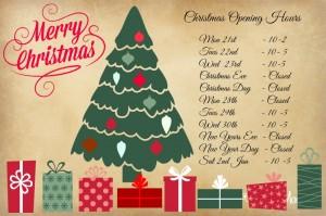 CHRISTMAS OPENING 2015