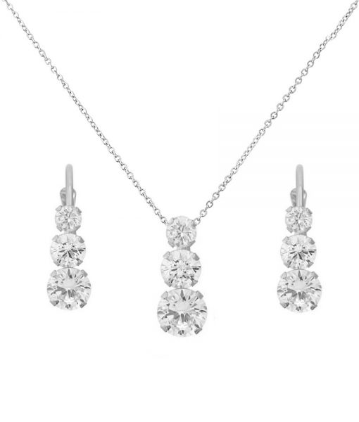 CRYSTAL TRIO SET