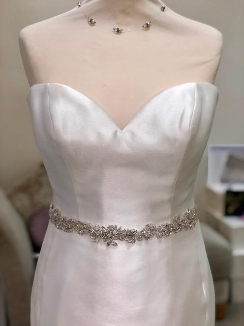 Wedding Dress Belts.Crystal Wedding Dress Belt The Bridal Box